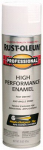 Rust-Oleum 7590-838 Fast Dry Professional Spray Enamel, Flat White, 15-oz.