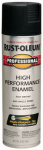 Rust-Oleum 7578-838 Fast Dry Professional Spray Enamel, Flat Black, 15-oz.