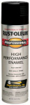 Rust-Oleum 7579-838 Fast Dry Professional Spray Enamel, Black Gloss, 15-oz.