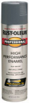 Rust-Oleum 7587-838 Fast Dry Professional Spray Enamel, Dark Machine Gray Gloss, 15-oz.