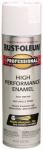 Rust-Oleum 7592-838 Fast Dry Professional Spray Enamel, White Gloss, 15-oz.