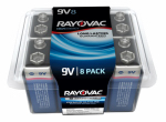 Spectrum/Rayovac A1604-8PPJ 8-Pack 9V Maximum Alkaline Pro Pack Batteries