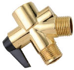Delta Faucet 345-520 Polished Brass Shower Flow Diverter