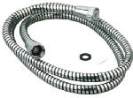 Delta Faucet 346-783 59-Inch Chrome/Black Vinyl Shower Hose