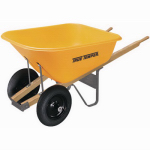 Ames True Temper BP8 8-Cu. Ft. Polyethelyne Wheelbarrow