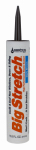 Sashco Sealants 10008 Window Sealant, Dark Brown Acrylic Rubber, 10.5-oz.