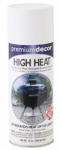 True Value Mfg PD1551-AER High-Heat Spray Paint, Dull White, 12-oz.
