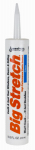 Sashco Sealants 10006 10.5-oz. Clear Acrylic Rubber Sealant