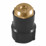 Champion Irrig Div Arrowhead Brass S29H Half-Circle Shrub Sprinkler Head