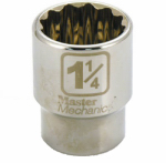 Apex Tool Group-Asia 351833 3/4-In. Drive, 1-1/4-In. 12-Point Socket