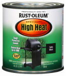 Rust-Oleum 7778-730 1/2-Pint Barbecue Black Satin Finish High Heat Paint