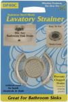 Whedon Products DP40C Mesh Lavatory Strainer with Chrome Ring for Lavatory Sinks, Stainless Steel