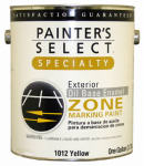 True Value Mfg 1012-GL 1-Gallon Flat Yellow Oil-Based Zone Marking Paint