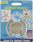 Whedon Products DP60C Stainless-Steel Mesh Bathtub Strainer With Chrome Ring