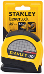 Stanley Consumer Tools STHT30830 Leverlock Tape Measure, 30-Ft.