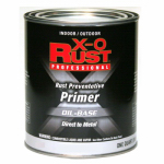 True Value Mfg 1267-QT Metal Primer, Oil-Base, Interior/Exterior, Red, 1-Qt.