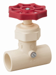 B&K 105-323 CPVC Solvent-Weld Stop & Waste Valve, 0.5-In.