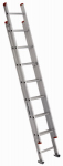 Louisville Ladder L-2321-16 16-Ft. Extension Ladder, Aluminum, Type III, 200-Lb. Duty Rating