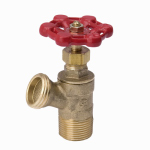 B&K 102-703 Heavy Duty Boiler Drain, Male, Threaded, 0.5-In.