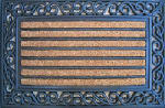 Palm Fibre Private Limited PLM 10757 Doormat, Scrolled Edge, 18 x 30-In.