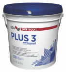 U S Gypsum 384013 Plus 3 Lightweight Joint Compound, 3.5-Qt.