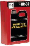 Exide Technologies 6QT ACID 6-Qt. Dry Charge Battery Acid