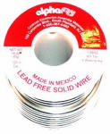 Alpha Metals AM13955 16-oz., .125-Diameter Lead-Free General-Purpose Solder