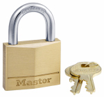 Master Lock 140KA1G028 1-9/16-Inch Solid-Brass Keyed-Alike Padlock