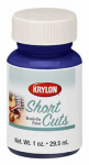 Krylon Diversified Brands SCB062 Short Cuts Brush On Paints, Iris, 1-oz.