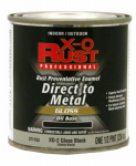 True Value Mfg XO2-HP Anti-Rust Oil-Base Enamel, Black Gloss, 1/2-Pt.