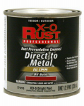 True Value Mfg XO6-HP Anti-Rust Oil-Base Enamel, Bright Red Gloss, 1/2-Pt.
