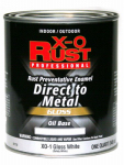 True Value Mfg XO1-QT Anti-Rust Oil-Base Enamel, White Gloss, 1-Qt.