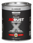 True Value Mfg XO10-QT Anti-Rust Oil-Base Enamel, Aluminum Gloss, 1-Qt.