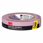 3M 2080EL-24N Blue Painter's Masking Tape W/ EdgeLock,  .94-In. x 60 -Yds.