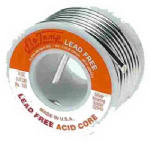 Alpha Metals AM22955 Lead-Free Non-Electrical Solder, .125-In., 8-oz.