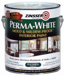Zinsser & 02771 White Mold & Mildew Proof Interior Paint, Eggshell, Gallon
