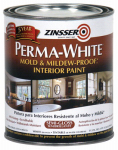 Zinsser & 2754 Zinsser Perma-White Qt. Mold & Mildew Proof Semi-Gloss Interior Paint