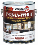 Zinsser & 2761 Mold & Mildew Proof Interior Paint, White Semi-Gloss, Gallon