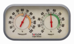 Taylor Precision Products 90113-1 Color Track Hygrometer & Thermometer Combo