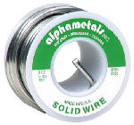 Alpha Metals AM23505 Leaded General-Purpose Solder, .125-In., 8-oz.