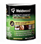 Dap 25332 1-Quart Weldwood Nonflammable Contact Cement