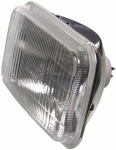 Federal Mogul/Champ/Wagner H6054 Auto Headlight, Halogen, Sealed-Beam, High-Low Beam, Rectangular