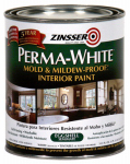 Zinsser & 02774 Zinsser Perma-White Qt. White Mold & Mildew Proof Eggshell Interior Paint