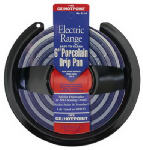 Stanco Metal Prod 411-6 Electric Range Drip Pan, Hinged Element, Non-Stick Porcelain, 6-In.