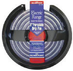 Stanco Metal Prod 410-8 Electric Range Drip Pan, Hinged Element, Non-Stick Porcelain, 8-In.