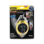 Stanley Consumer Tools 47-140L Fatmax Chalk Line, Rubber-Grip Case, 100-Ft.
