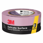 3M 2080EL-48N Blue Painter's Masking Tape W/ EdgeLock, 48mm x 55m