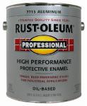Rust-Oleum 7715-402 Professional Enamel Coating, Aluminum, 1-Gal.