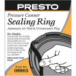 National Presto Ind 09905 Pressure Cooker Sealing Ring With Automatic Air Vent