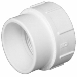 Charlotte Pipe & Foundry PVC 00105  0800HA Pipe Fitting, Cleanout Body, 2-In.